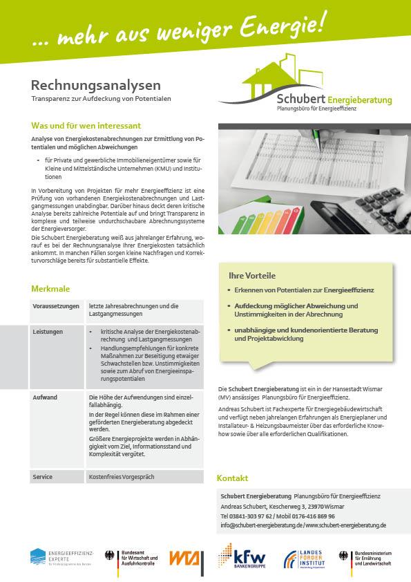 Rechnungsanalysen